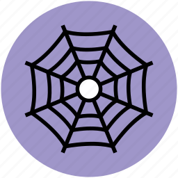 arachnid net, cobweb, halloween web, spider web icon