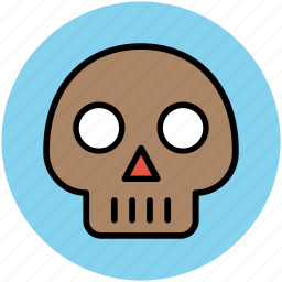 devil skull, ghost face, halloween skull, skull, spooky face icon