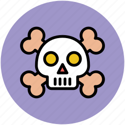 cross bones, ghost face, halloween, skull, spooky face icon