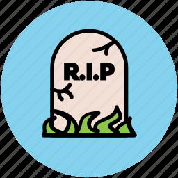 halloween gravestone, halloween tombstone, headstone, rip headstone, tombstone icon
