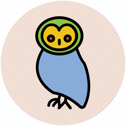 animal, bird, halloween owl, nocturnal, nocturnal animal, owl icon