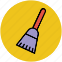 broom, broomstick, magic broom, mop, witch broomstick icon
