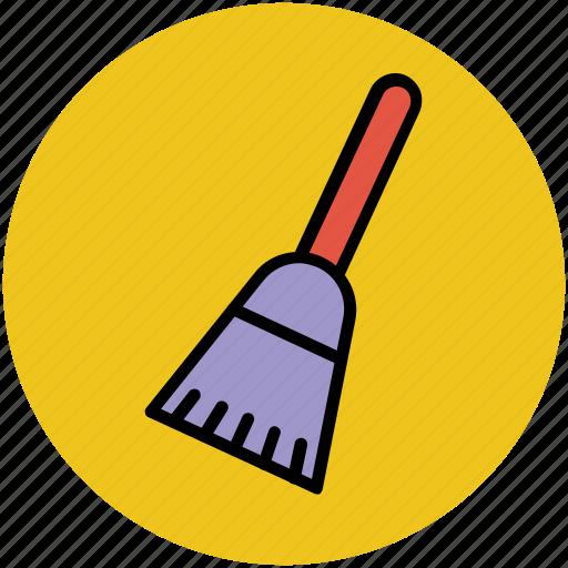 broom, broomstick, magic broom, mop, witch broomstick icon