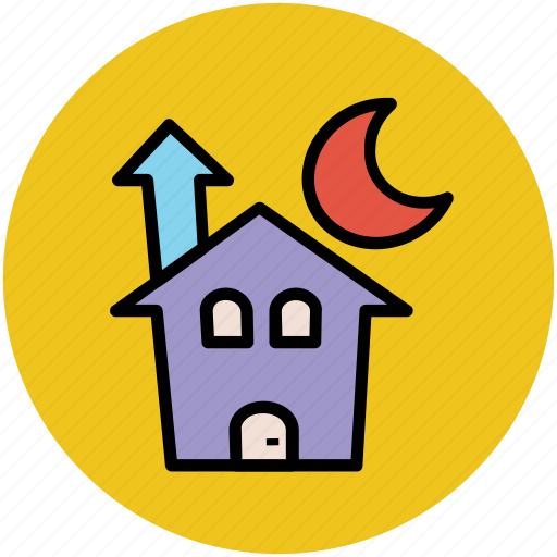building, halloween castle, halloween mansion, home, horror castle icon