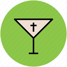 alcohol, cocktail, cross cocktail, glass, halloween cocktail, martini icon