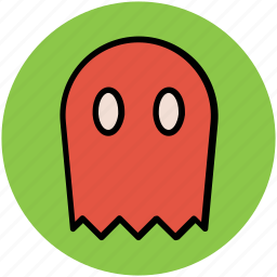 dreadful, fearful, halloween ghost, horrible, scary icon