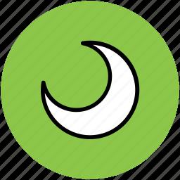 crescent, halloween crescent, halloween moon, night, sky moon icon