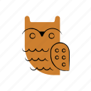 halloween, horror, owl, scary, spooky