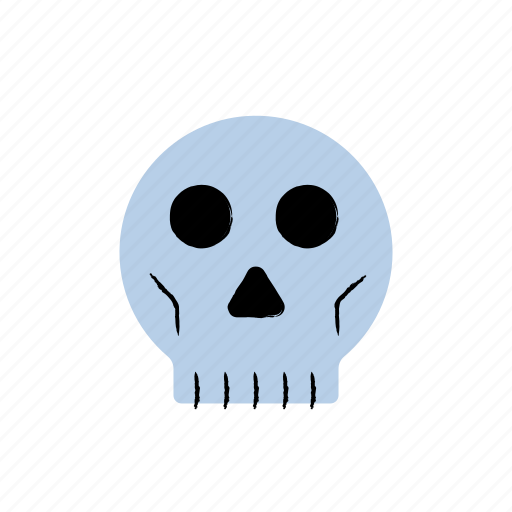 Bones, halloween, horror, scary, skull icon - Download on Iconfinder