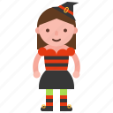 avatar, character, costume, halloween, witch icon