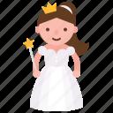 angel, avatar, character, costume, fairy, halloween icon