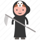 angel of death, avatar, character, costume, halloween icon