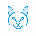 andry, animal, clown, halloween icon