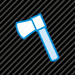 axe, reaper, scythe, waepon icon