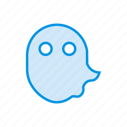 boo, ghost, halloween, scary icon
