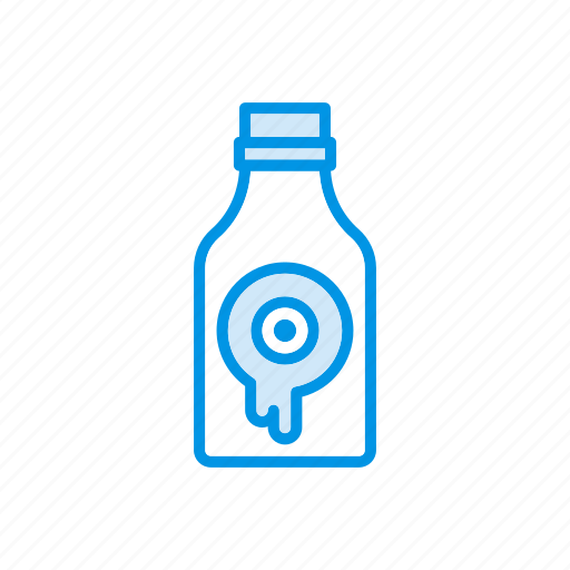 bottle, flask, halloween, potion icon