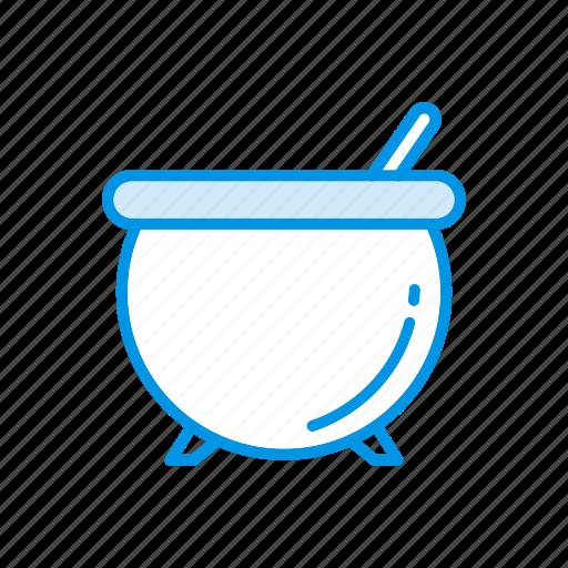 cauldron, cook, halloween, mixing icon