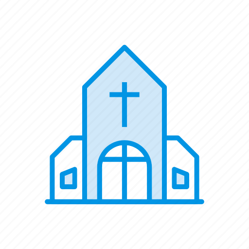 building, catholic, christian, church icon