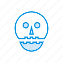zombie, scary, vampire, clown icon