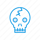 clown, creepy, ghost, spooky icon