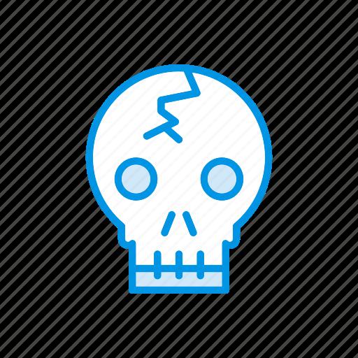 clown, creepy, ghost, spooky icon