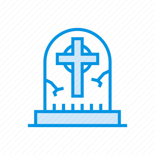 casket, coffin, grave, tombstone icon
