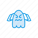 creepy, ghost, halloween, spooky icon