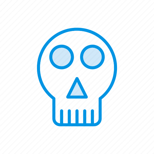 creepy, ghost, skull, vampire icon