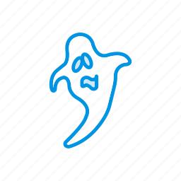 boo, creepy, ghost, scary icon