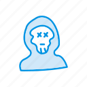 creepy, ghost, halloween, scary icon