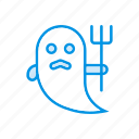 ghost, halloween, skull, spooky icon