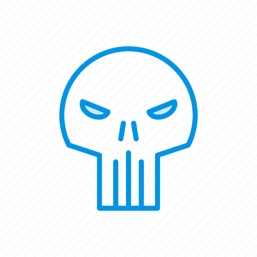 ghost, scary, skull, spooky icon