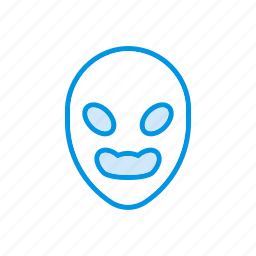 boo, ghost, scary, skull icon