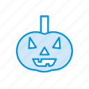 clown, halloween, pumpkin, skull icon