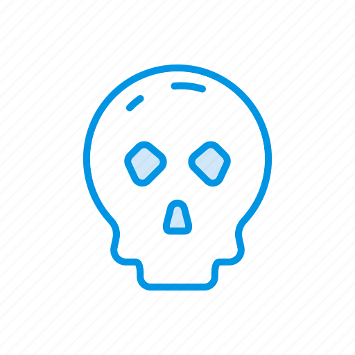 clown, halloween, scary, skull icon