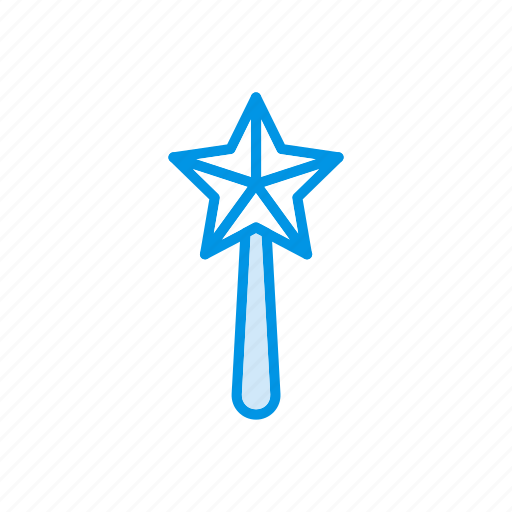 Magic, stick, wand, wizard icon - Download on Iconfinder