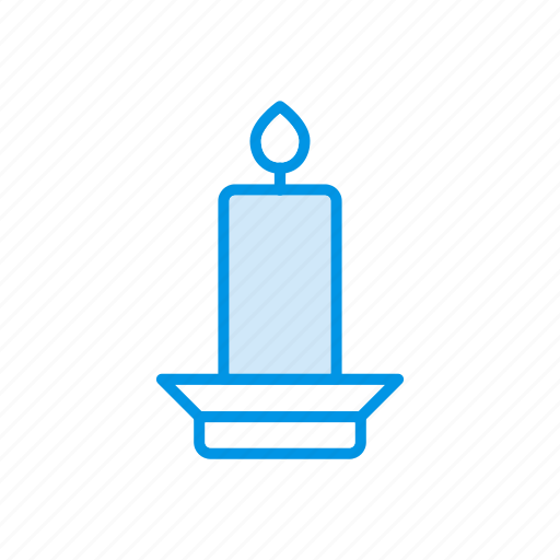 candle, fire, memorial, torch icon