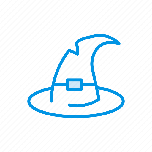 cap, hat, witch, wizard icon