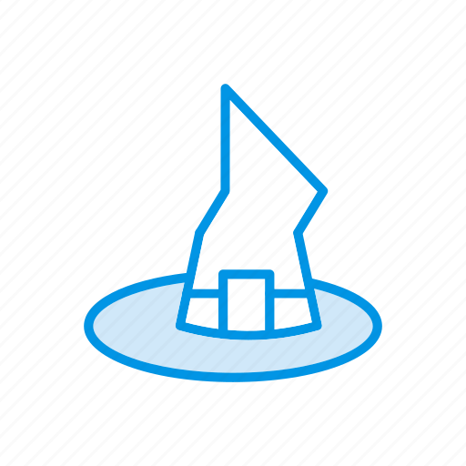 hat, sorcerer, witch, wizard icon