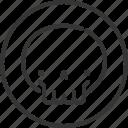avatar, character, halloween, horror, monster, skull, spooky icon