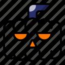 halloween, pumpkin, scary, spooky