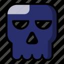halloween, skull, ghost, scary
