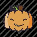 glad, halloween, lantern, pumpkin icon