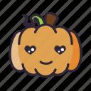 halloween, lantern, love, pumpkin icon