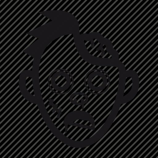 brain, halloween, monster, undead, zombie icon
