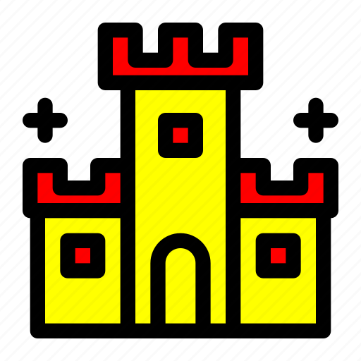 Castle, costume, ghost, halloween, palace icon - Download on Iconfinder