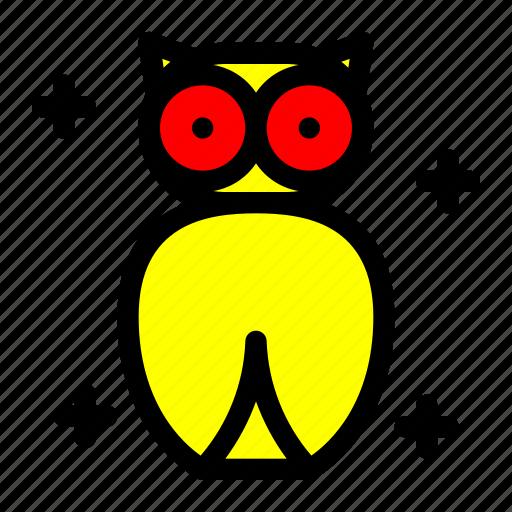 Bird, costume, ghost, halloween, owl icon - Download on Iconfinder