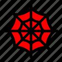 costume, ghost, halloween, spider, spiderweb icon