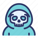 ghost, halloween, horror, reaper, scary icon