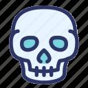 death, halloween, horror, scary, skull